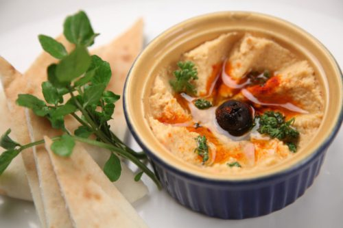 Hummus with Peanut Butter